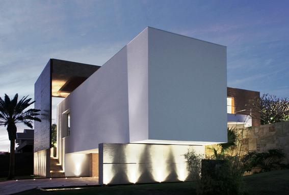 La identidad latinoamericana a trav s de la arquitectura for Fachadas de casas modernas entre medianeras