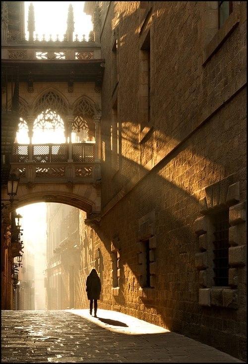 viajar sola a Barcelona