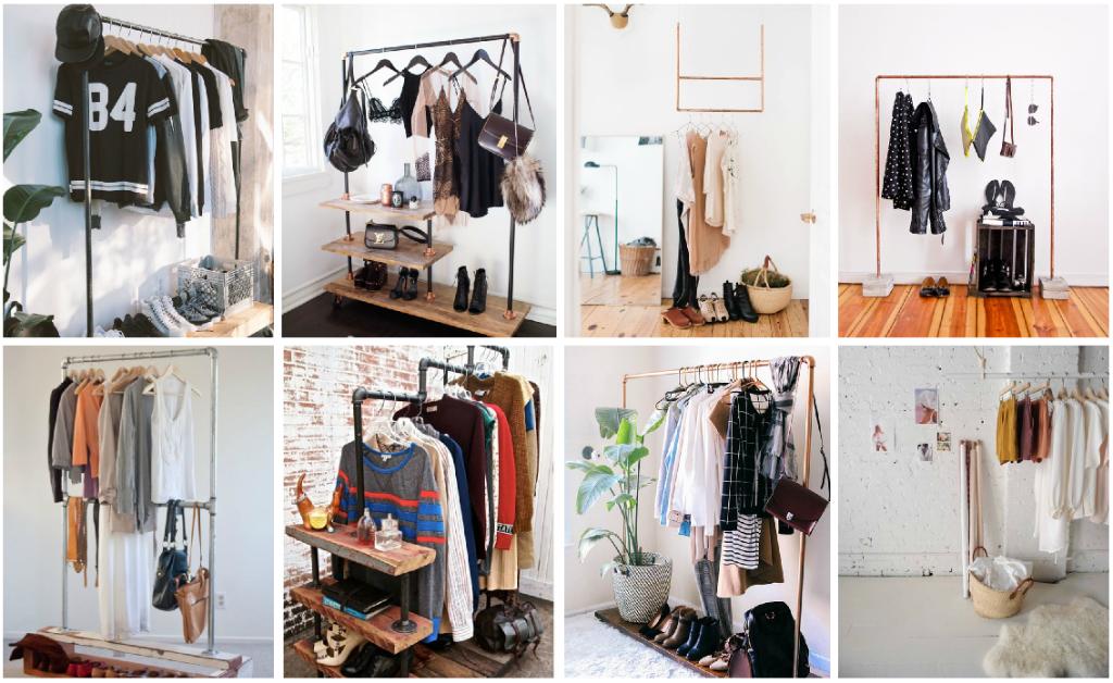 Como acomodar la ropa sin closet vestido de novia - Organizar ropa interior ...