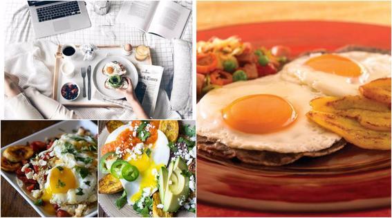 Desayuno saludable y r pido f cil de preparar comida Plato rapido y facil de preparar