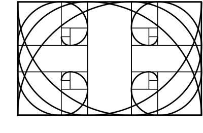 espirales regla de los tercios