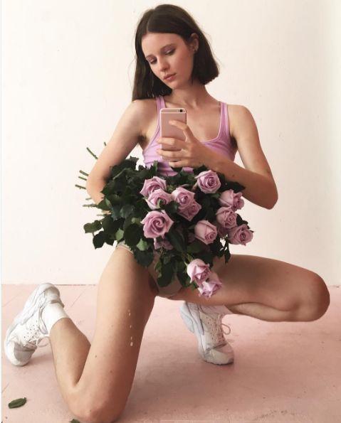flores fotos sobre la sexualidad femenina