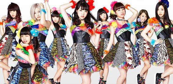 idols japonesas cheeky parade