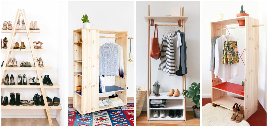 6 ideas para organizar tu ropa cuando no tienes cl set