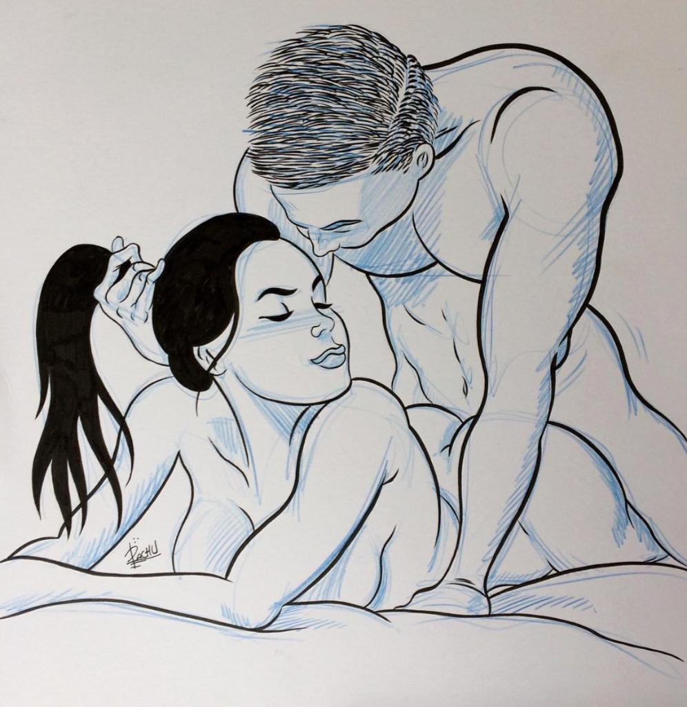 dibujos de sexo