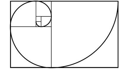 rectangulo espira fibonacci