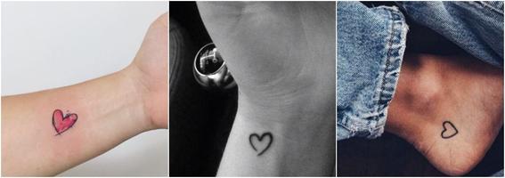 tatuajes por moda corazon
