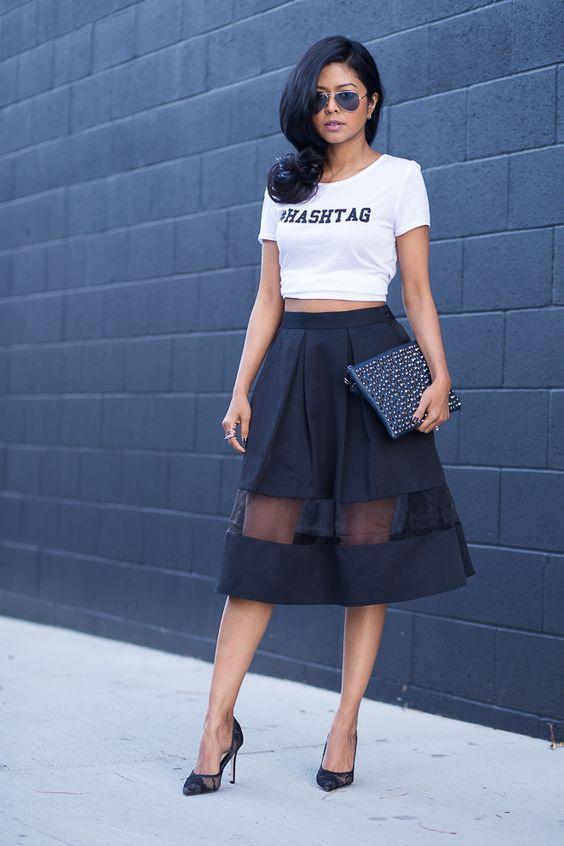 0c0274078 15 consejos para vestir transparencias sin caer en lo vulgar - Moda ...