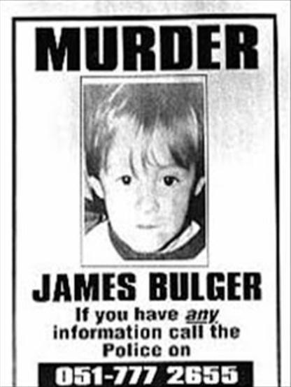 Asesinato de James Bulger afiche