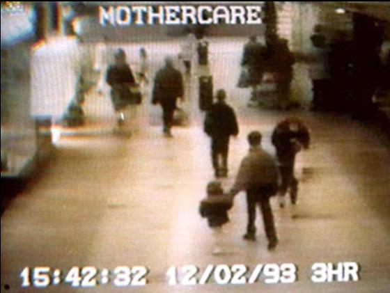 Asesinato de James Bulger grabacion