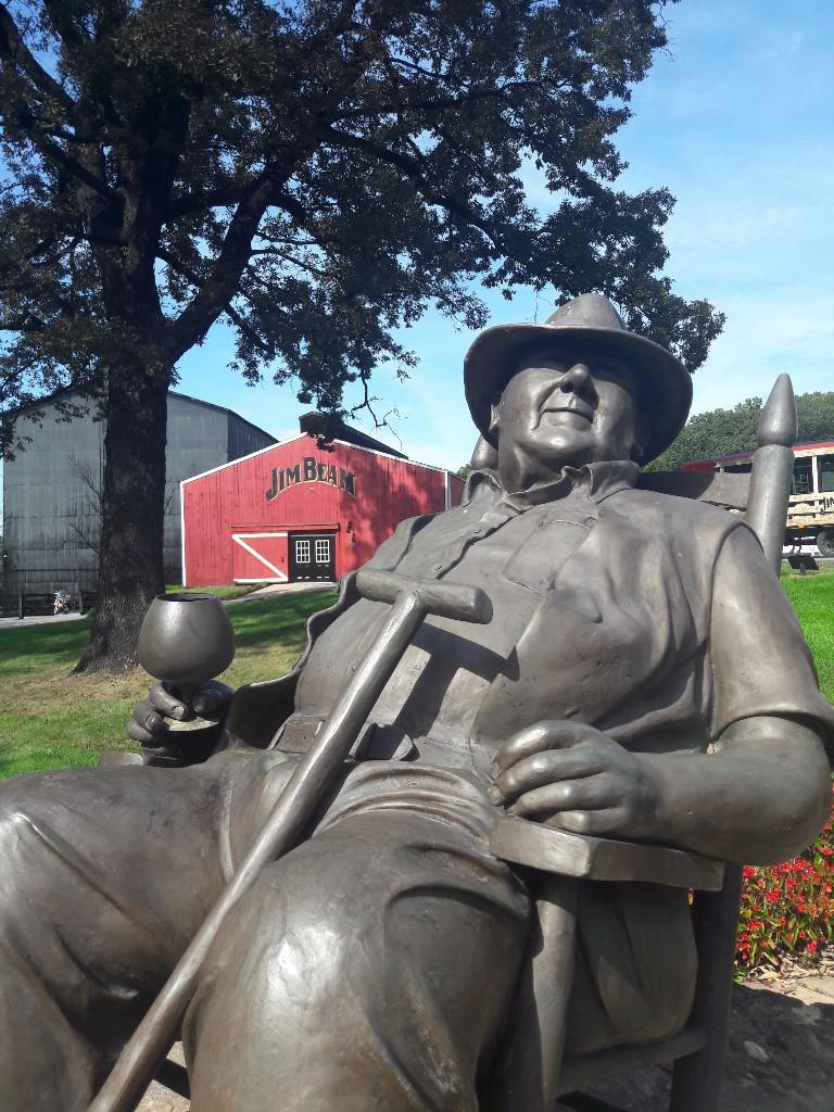 Jim Beam Statue