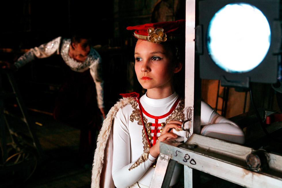 bailarina  rusa espera