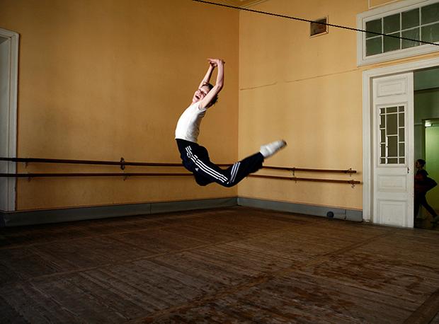bailarina rusa salto