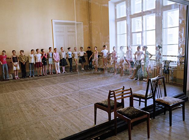 bailarina rusa silla
