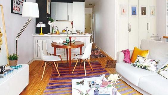 7 consejos para decorar tu departamento si tienes poco - Casas pequenas decoracion ...
