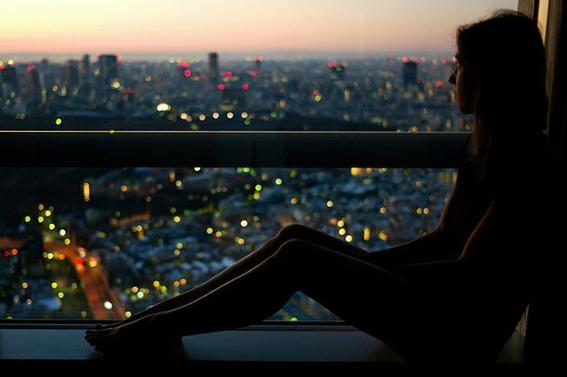 disfrutas la soledad