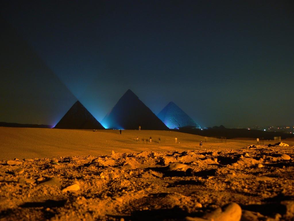 egipto piramides datos sobre de