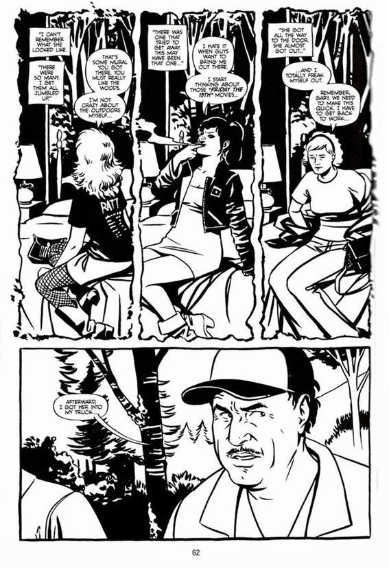 el asesino de green river comic