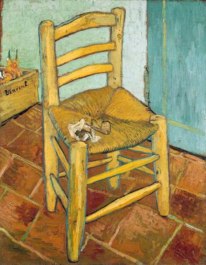 Pinturas de Van Gogh la-silla
