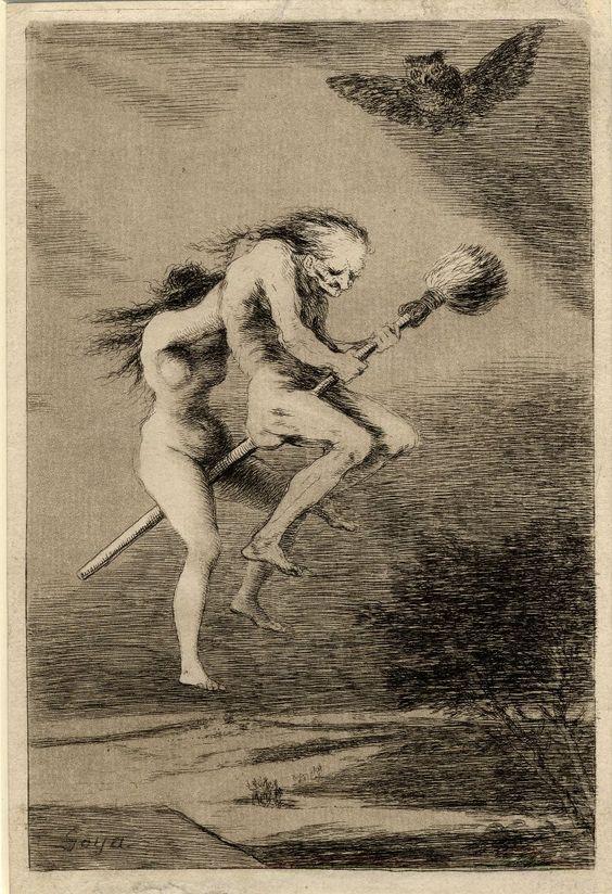 libros sobre brujas escoba