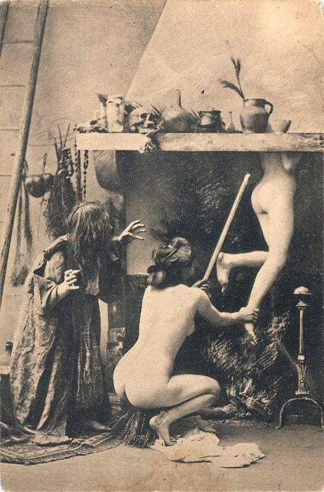 libros sobre brujas foto