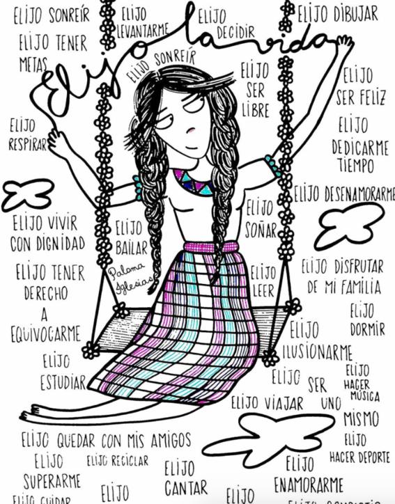paloma iglesias ilustraciones femenina