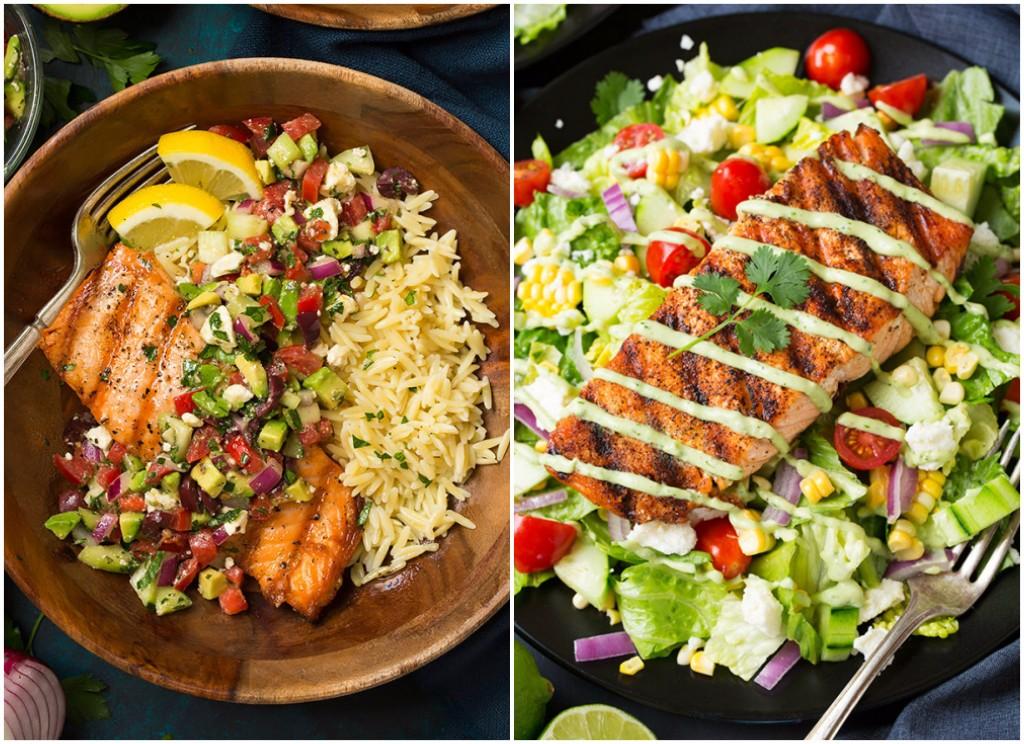 Recetas para dietas con pescado