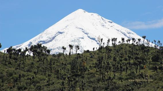pico de orizaba lugares turisticos frios en mexico
