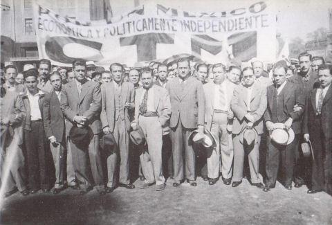 posrevolucion mexicana ctm