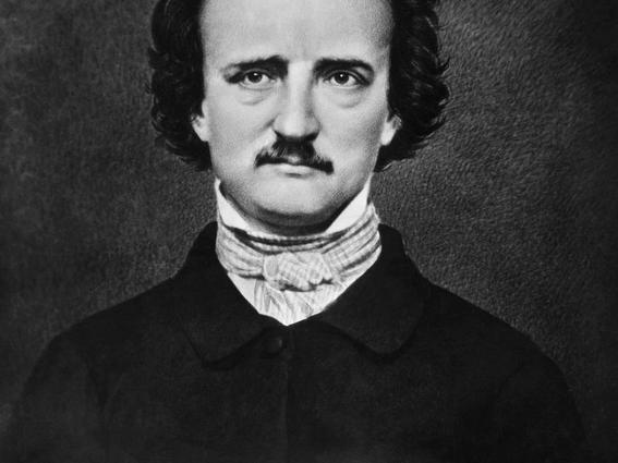 quien inspiro a Poe a escribir el cuervo