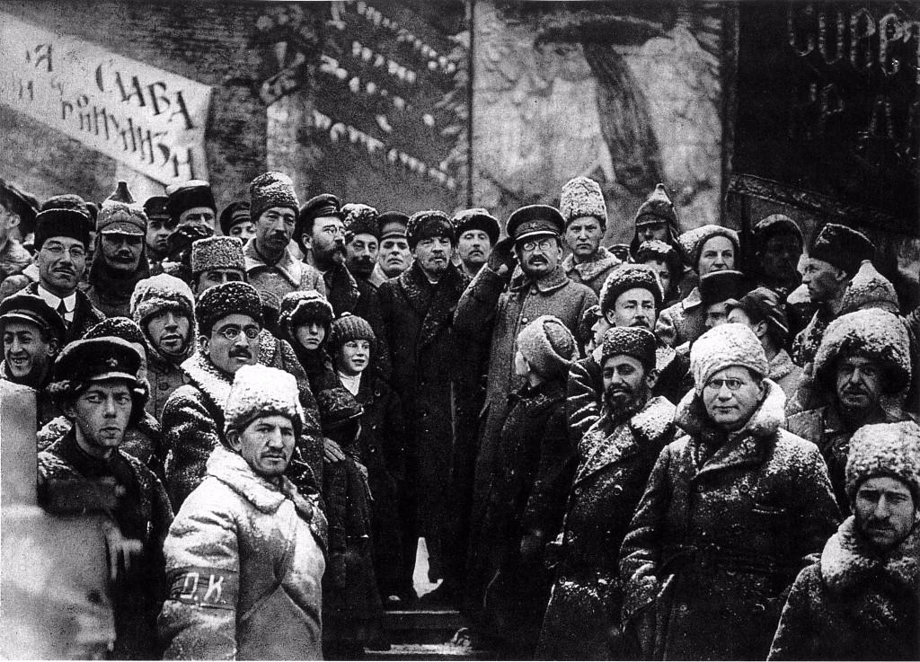 revolucion rusa nieve