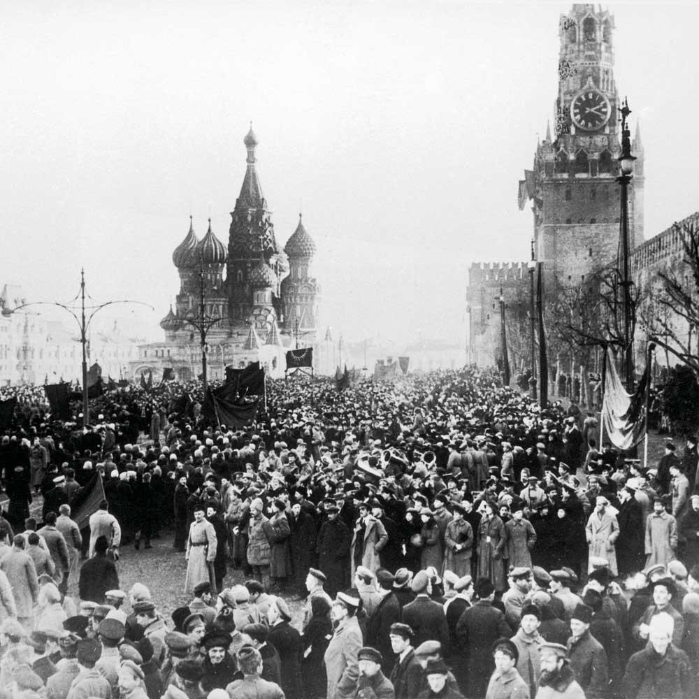 revolucion rusa plaza