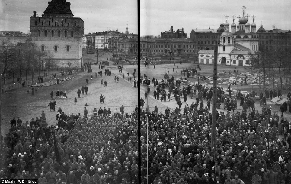 revolucion rusa pueblo