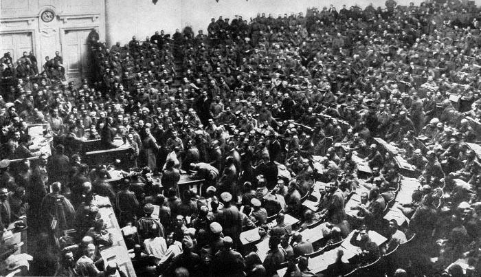 revolucion rusa soviet
