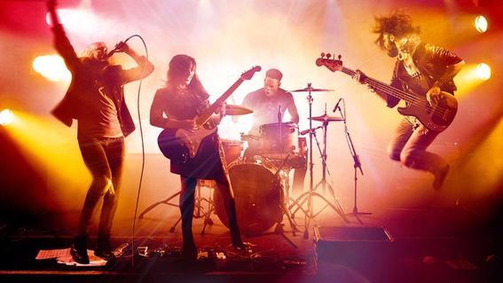 Videojuegos multijugador rock-band