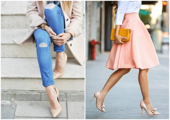 ropa de moda de mujer tacones