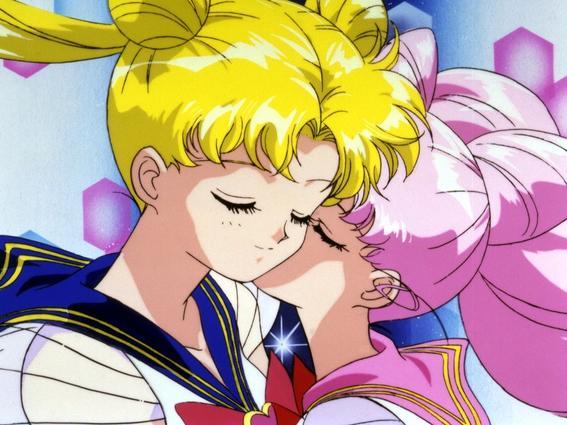 sailor moon beso