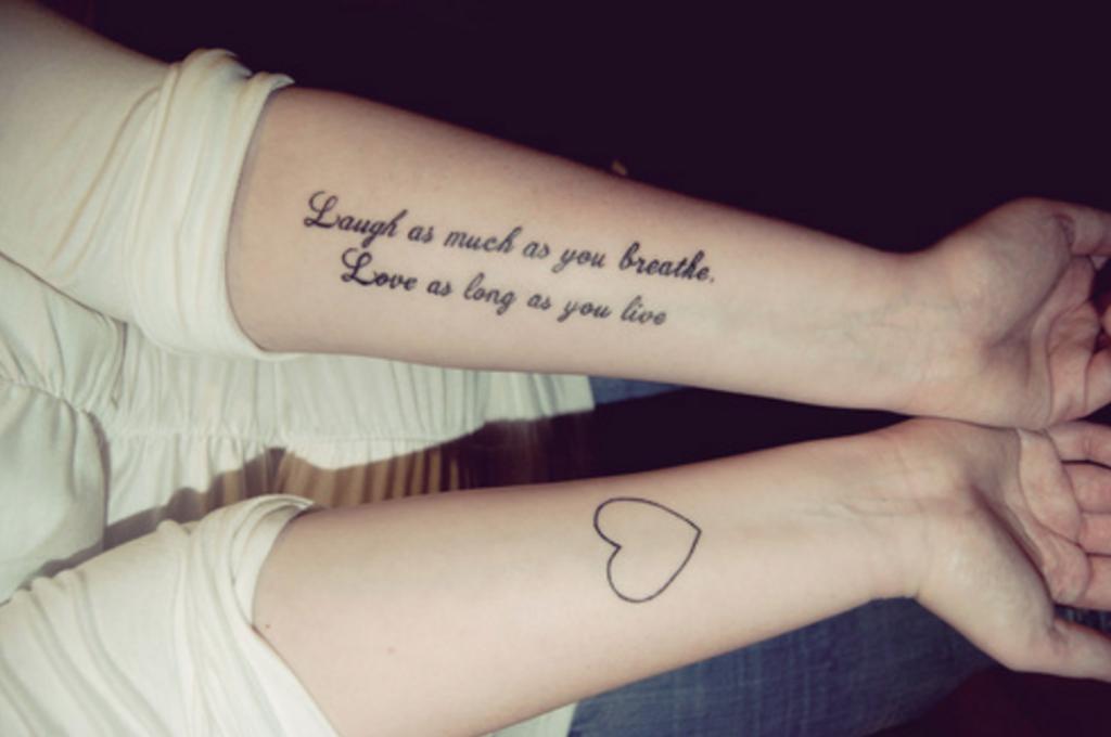 Tatuajes Ideales Para Las Personas Que Están Superando Un Mal
