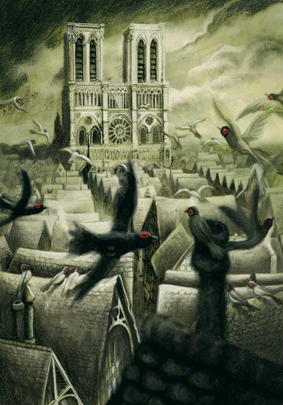 Ilustradores infantiles  Benjamin-Lacombe-Notre-Dame
