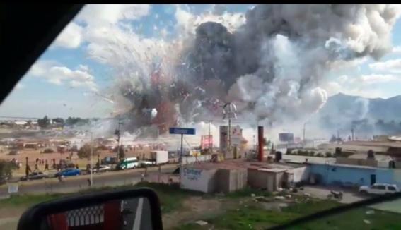 explota mercado de cohetes en tultepec