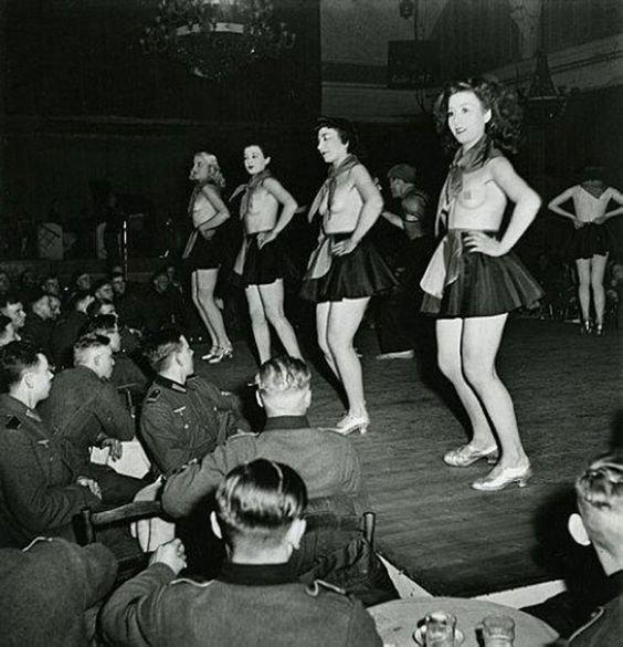 French Women Paris Brothels Nazi