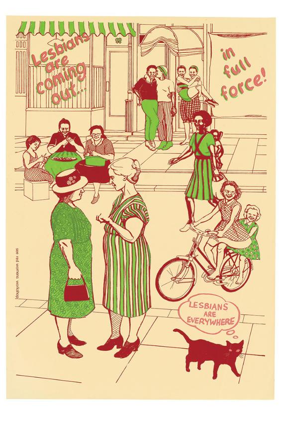 LesbiansAreComingOut carteles feministas