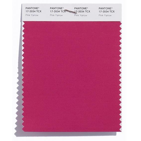 Colores de moda 2017  Pink-Yarrow