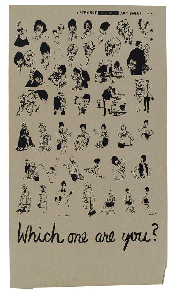 WhichOneAreYou  carteles feministas