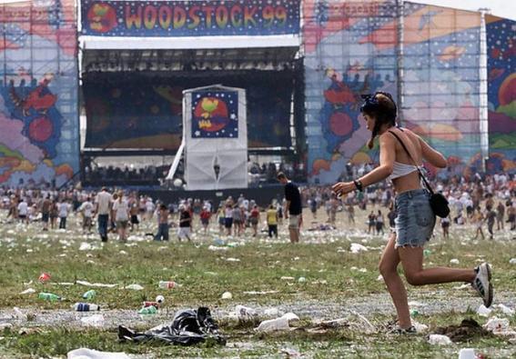 Momentos en el rock Woodstock-99