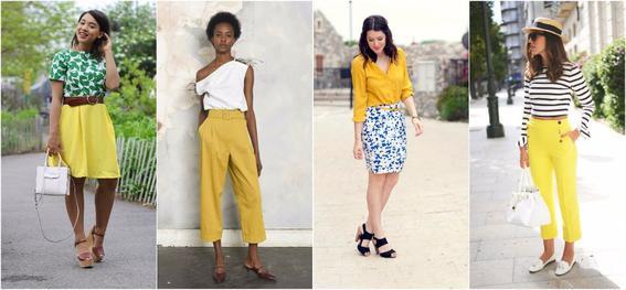Colores de moda 2017  amarillo-2017