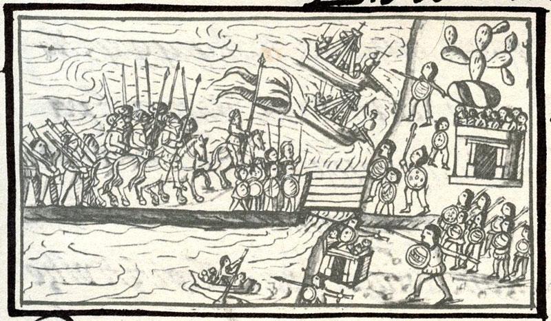 codice florentino conquista