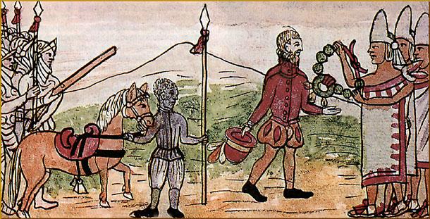 conquista aztecas