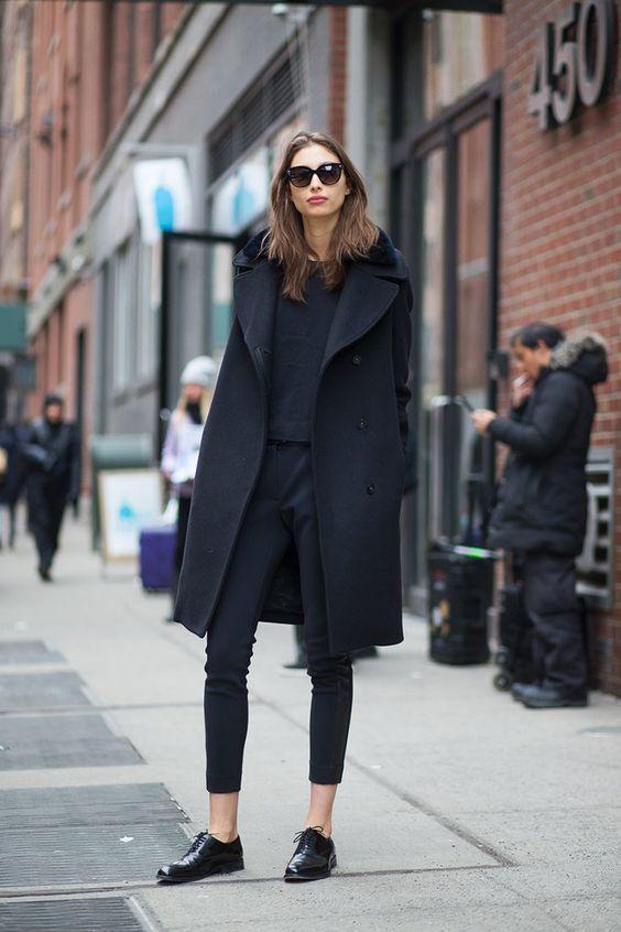 consejos de moda todo negro