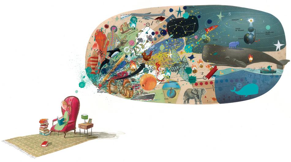 Ilustradores infantiles  corazon-en-la-botella-jeffers